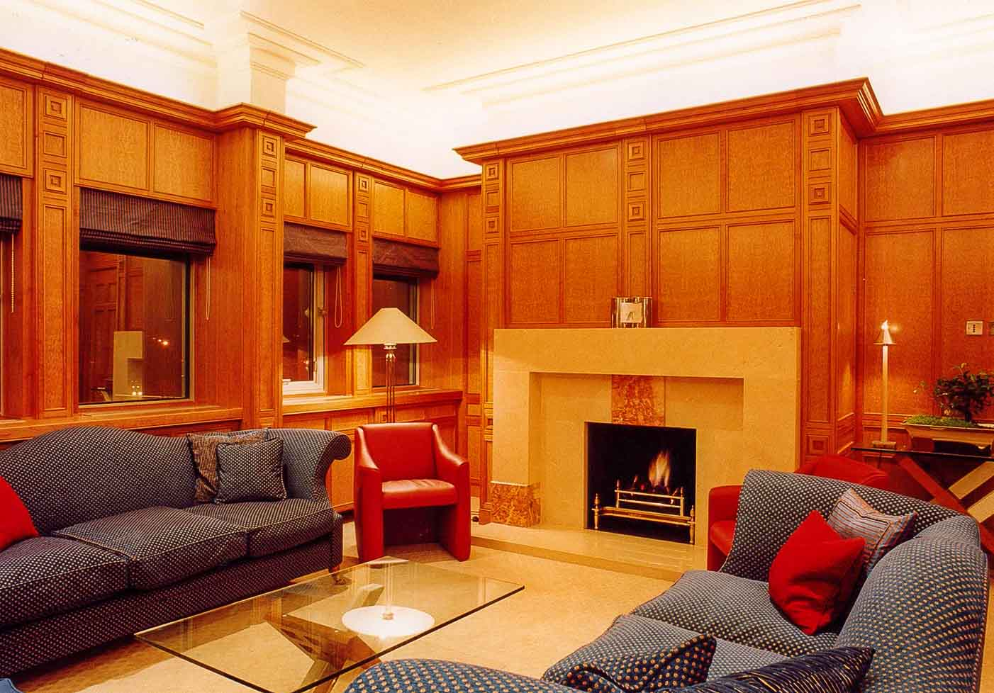 Commercial Offices Wooden Panelling & Furniture