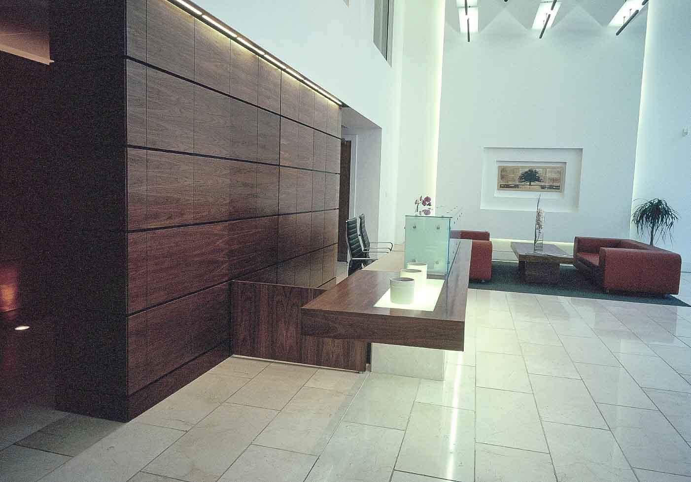 Commercial Offices Reception Desks Design & Manufacturer