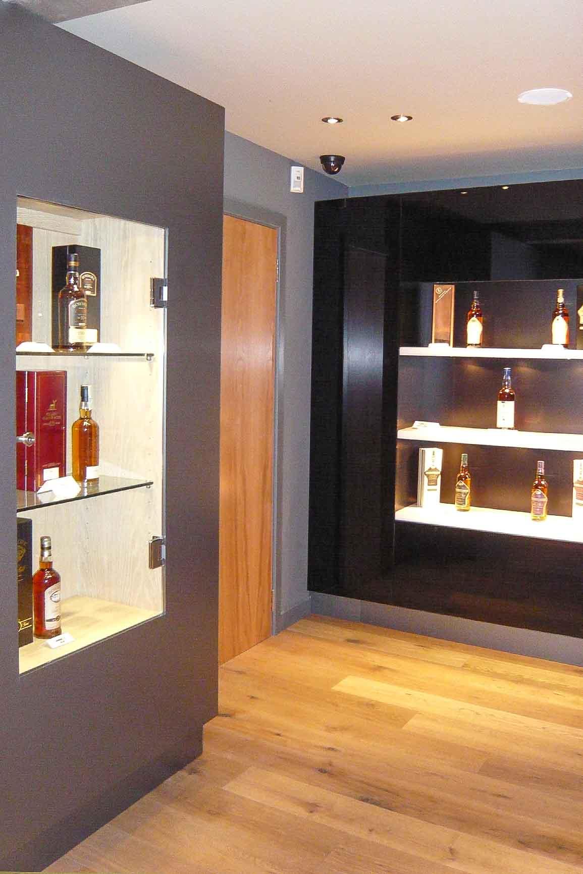Jack Hyams - Auchentoshan Distilleries Furniture Design & Manufacturer