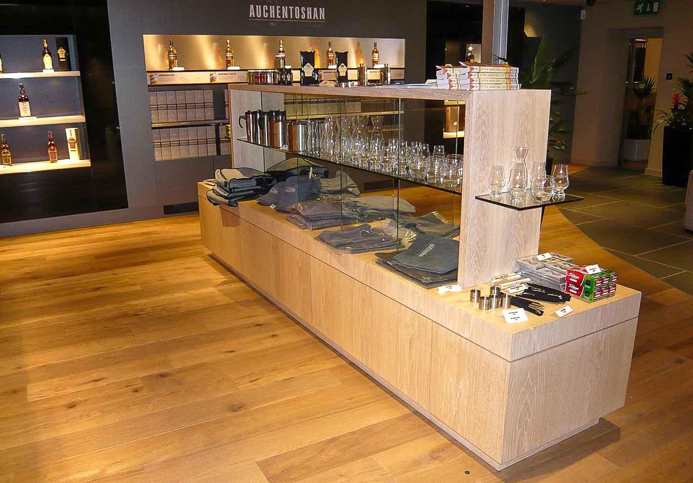 Auchentoshan - Custom Made Distilleries Furniture Design & Manufacture | Jack Hyams