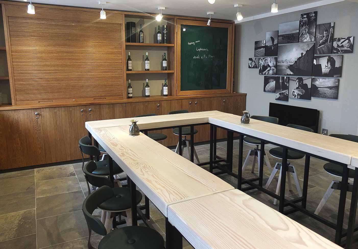 Jack Hyams - Laphroaig Distillery Furniture Manufacturer