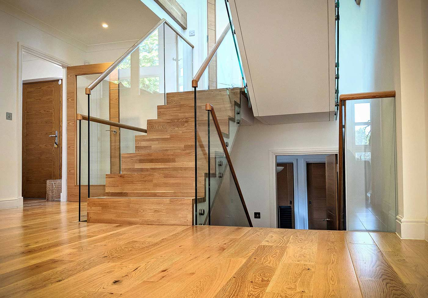 Glass Staircases Scotland - Jack Hyams Design & Manufacture