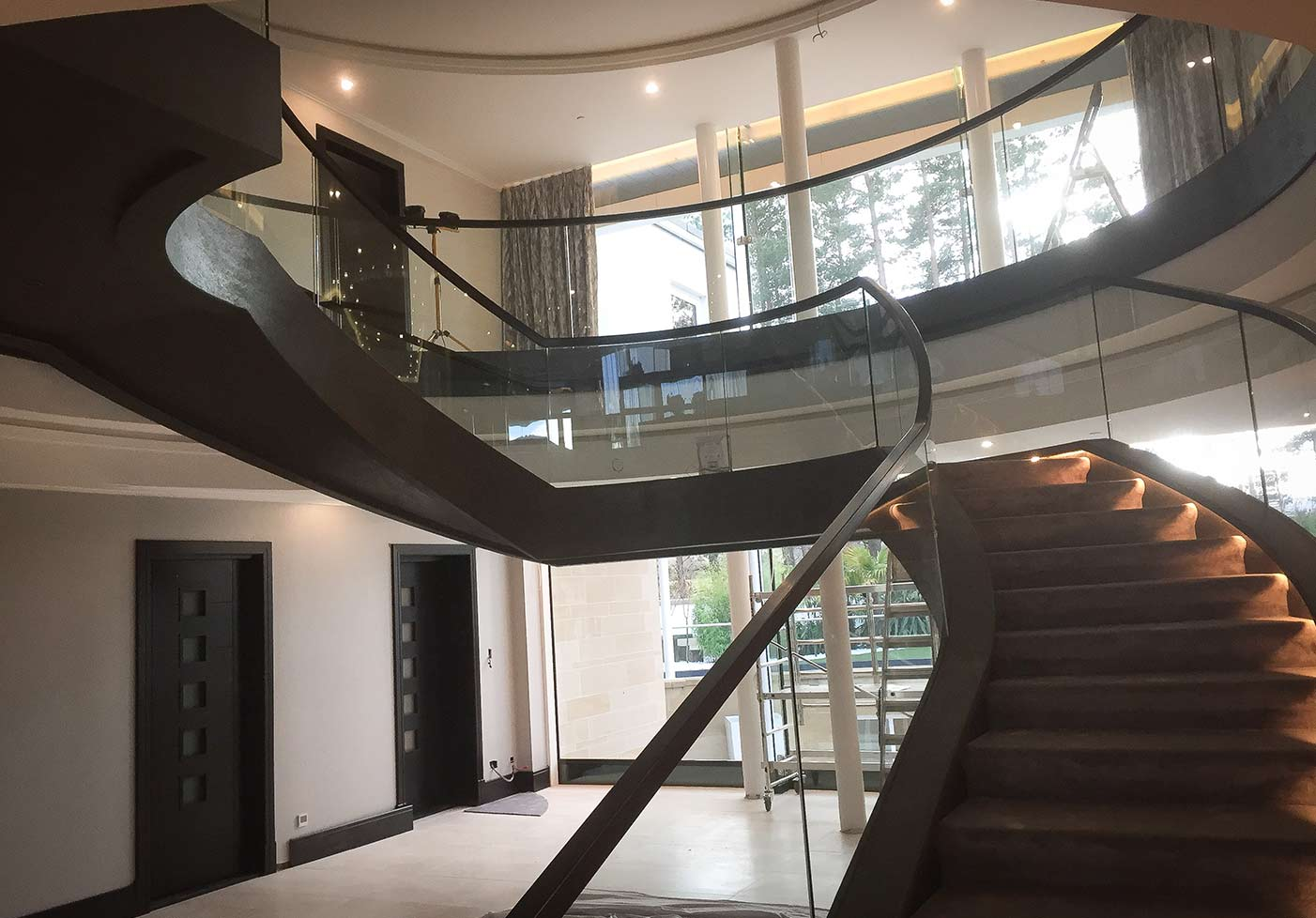 Jack Hyams - Custom Staircase design & Manufacture - Scotland